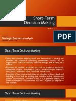 Module-5-Short-Term-Decision-Making
