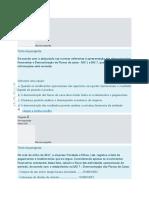 Mini Teste Auditoria  Contabilidade e Relato Financeiro