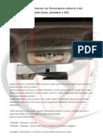 Alfa 147 - Plafoniera anteriore con illuminazione notturna a led
