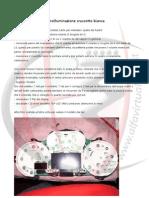 Alfa 147 - Retroilluminazione cruscotto bianca