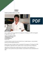 11-02-11 - Nombran presidente interino en la UPR