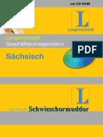 Langenscheidt  - Sächsisch - Deutsch