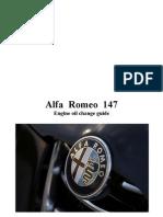 Alfa 147 - Engine Oil Change Guide
