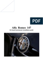 Alfa 147 - On-Board Instruments Instal at Ion Guide