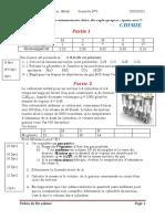 1sc math devoir N°1 Mr sabour2020-2021