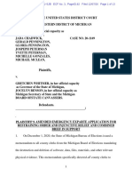 Barry Co. Sheriff Dar Leaf lawsuit against Michigan