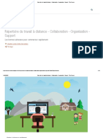 Répertoire du travail à distance - Collaboration - Organisation - Support - Thot Cursus