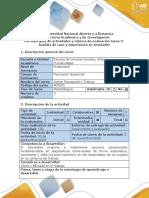 Guía de actividades y rubrica de evaluación Tarea 3-Análisis de caso y experiencia en simulador (1)