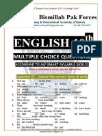 10th ENGLISH mcqs