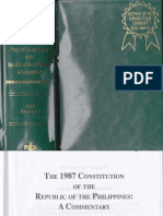 1987 PHILIPPINE CONSTITUTION by Bernas 2009-1-1