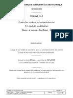 11157-epreuve-e41-bts-elec-2019-sujet