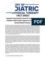 15 Selected Assess Tools for ASD