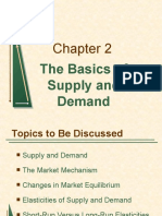 Chapter 2 The Basics of Supply and Demand