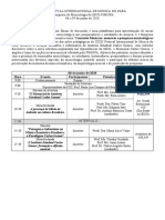 I Simpósio de Musicologia Belém do Pará 2018 Programação