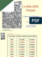 La data della Pasqua-Stia.ppt