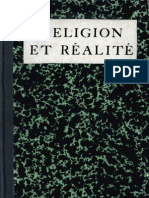 Religion Et Realite / Sâdhou Sundar Singh