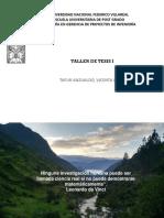10065997_TALLER DE TESIS I - Justificación y limitaciones