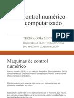 20- CONTROL NUMERICO COMPUTARIZADO