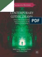 (Palgrave Gothic) Kelly Jones, Benjamin Poore, Robert Dean - Contemporary Gothic Drama-Palgrave Macmillan UK (2018)