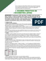 Psicometria Manual Examen práctico (SPSS)