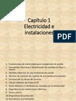 01 Electricidad e instalaciones
