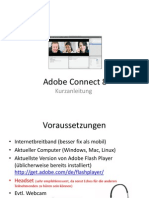 Adobe Connect 8 Kurzanleitung