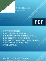 INTRODUCCIÓN AL DERECHO EN LA JURISDICCIÓN DE CUENTAS