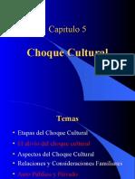 Capitulo 5 Choque Cultural