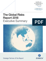 Global Risks Report Executive Summary 2018