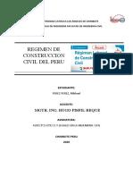 Resumen Regimen de Contruccion 2020