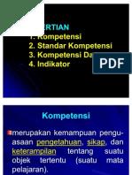 Pengertian SK Dan KD