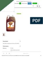 Ficha Técnica Jabón Manos Antibacterial Homecenter