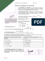 Ficha 6 Cinematica y dinamica de rotacion, momento angular y equilibrio de rigidos