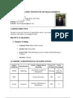 biswa resume
