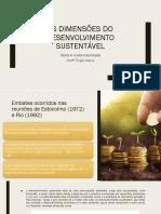 Aula 03 - Dimensões do Desenvolvimento Sustentável