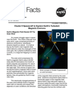NASA Facts Cluster II Spacecraft to Explore Earth's Turbulent Magnetic Environs