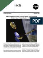 NASA Facts DART Demonstrator To Test Future Autonomous Rendezvous Technologies in Orbit Sept 2003