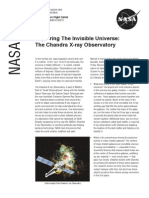 NASA Facts Exploring the Invisable Universe The Chandra X-ray Observatory