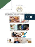 Acidentes domesticos  -Sua casa mais segura - assunto