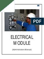 11 Electrical Module Admin Manual