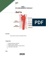 Aorta descendente Torácica