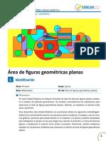 Área de figuras geométricas planas