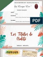 LOS TITULOS DE CREDITO