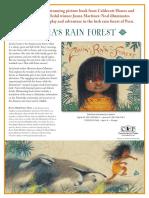 Zonia's Rain Forest by Juana Martinez-Neal Press Kit