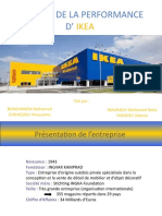 analyse de la performance d'IKEA