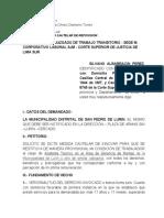 ALBARRACIN PEREZ  MEDIDA CAUTELAR NUEVO