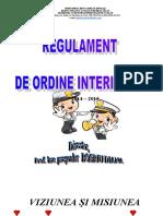 regulament ordine interioara grad pp1 zalau