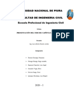 RECALZOS - CAP III