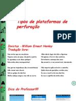 Aula 04 - Tipos de Plataformas de Perfuração