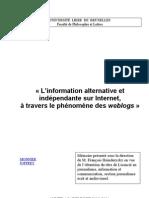 Memoire-Les-weblogs